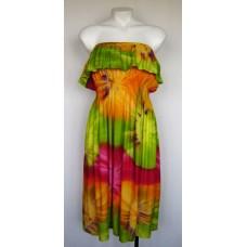 tie dye sun dress